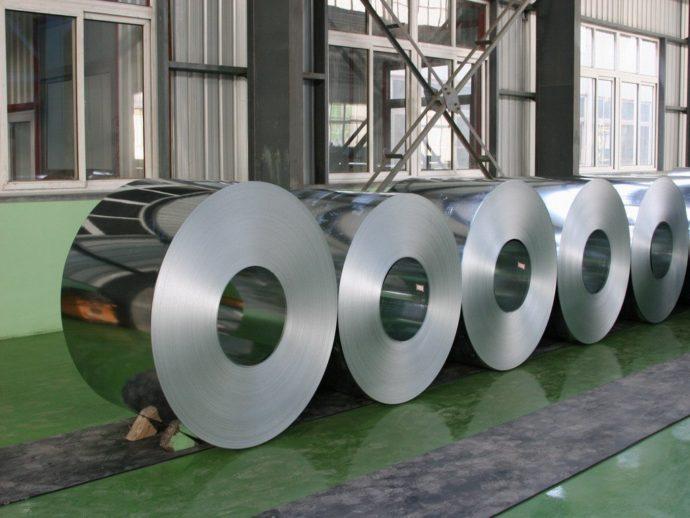 Рулонная тонколистовая сталь (сталь в рулонах)