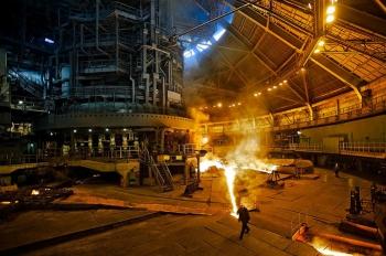 НЛМК увеличила производство стали в первой половине 2014 года на 2,7 процента