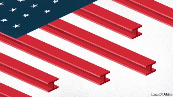 Американский импорт стали продолжает сокращаться