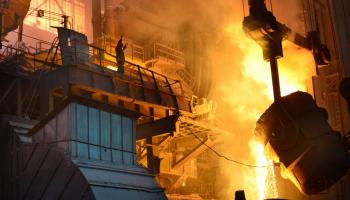 «Красный Октябрь» в мае значительно увеличил производство жидкой стали