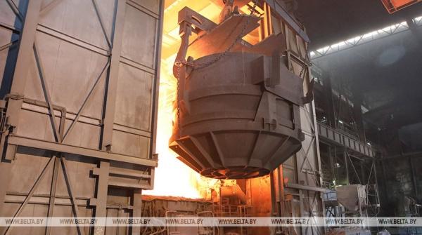 Белорусский метзавод незначительно сократил экспорт стали