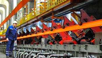 Квартальная выплавка стали на заводах Мечела выросла на 6%